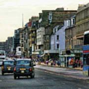 Downtown Edinburgh  Art Print