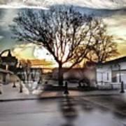 Downtown Hdr Atchison Art Print