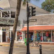 Downtown Key West Art Print