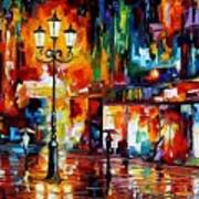 Downtown Lights Art Print