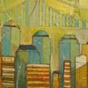 Downtown Manhattan Art Print