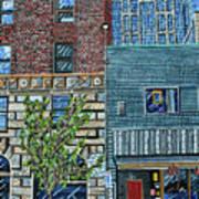 Downtown Raleigh - West Martin Street Art Print