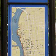 Downtown Wilmington Art Print