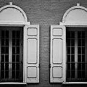 Downtown Windows Roanoke Virginia Art Print