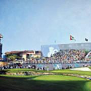 Dp World Tour Championship 2015 - Open Edition Art Print