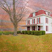 Dr Claude T. Old House Art Print