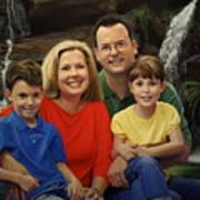 Dr. Devon Ballard And Family Art Print