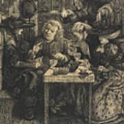 Dr Johnson At The Mitre Art Print