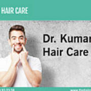 Dr. Kumar's Hair Care Clinic, Hair Transplant Services, Hair Transplant Doctors Art Print