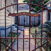 Dr. Lines Gate - Nola Art Print