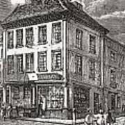 Dr. Samuel Johnson S Birthplace In Art Print