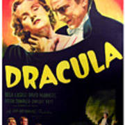 Dracula, Top From Left Helen Chandler Art Print by Everett