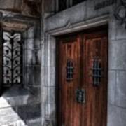 Dracula's Back Door Art Print