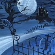 Dracula's Castle Art Print