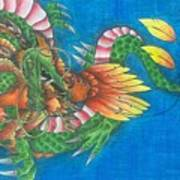 Dragon And Phoenix Art Print
