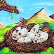 Dragon Babies Art Print