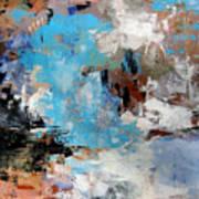 Dragon Bleu Art Print