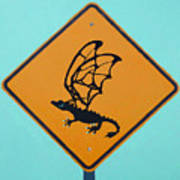 Dragon Crossing Art Print