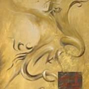 Dragon Double Happiness Art Print