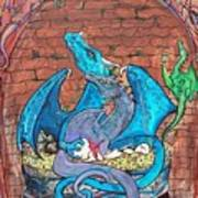 Dragon Family Art Print