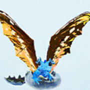 Dragon Hatching Art Print