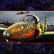 Dragon Jet Art Print