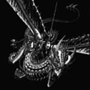 Dragon Knight Art Print