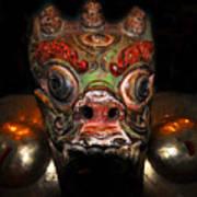 Dragon Of Nepal Art Print