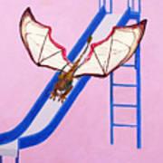 Dragon On Slide Art Print