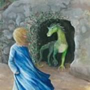 Dragon Princess 1 Art Print