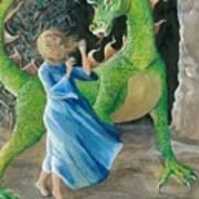 Dragon Princess 2 Art Print