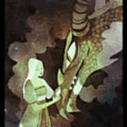 Dragon Princess Art Print