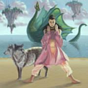 Dragon Queen Art Print