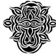 Dragon Warrior Art Print
