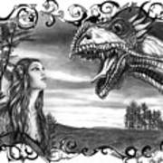 Dragon Whisperer  Art Print