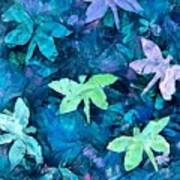 Dragonfly Blues Art Print