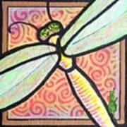 Dragonfly Fantasy 3 Art Print