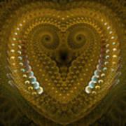 Dragonheart Art Print by Sandra Bauser Digital Art