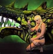 Dragon's Bane Color Art Print
