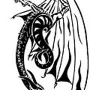 Dragons Orb Art Print