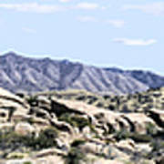 Dragoon Mountains Panorama Art Print