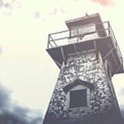 Dramatic Lighthouse Art Print