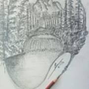 Drawing A Masterpiece  Art Print