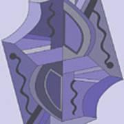 Drawn2abstract229 Art Print