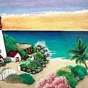 Dream Light House Art Print