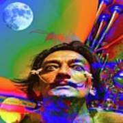 Dream Of Salvador Dali Art Print