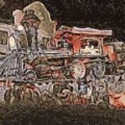 Dream Train  Art Print