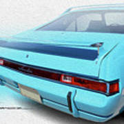 Amx Blue Butte Art Print