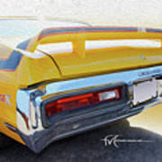 Screamin' Yellow Buick Art Print
