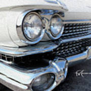 Candid Cadillac Art Print